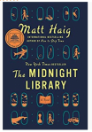 A Very Thought Provoking Book. Midnight Library by Matt Haig. A BookReview.