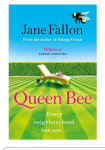 Queen Bee by Jane Fallon. BookReview.